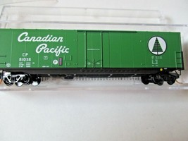 Micro-Trains # 18100050 Canadian Pacific 50' Standard Box Car, N-Scale image 1
