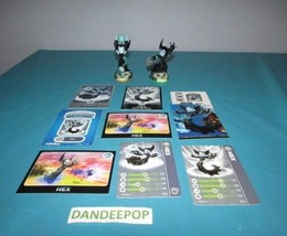 Skylanders 2 Figures First & Second Edition Hex +Cards Activision video ... - $10.88