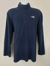 The North Face Blue Pullover Long Sleeve Fleece Sweater Jacket Size XXL - $34.64