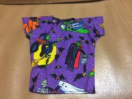 2016 Handmade HALLOWEEN Graveyard Shirt FITS KEN DOLL Velcro Monsters Wi... - $6.93