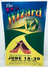 The Wizard of Oz - There's No Place Like Home - Dallas Musical 22x17 Poster - $21.73