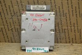 1997 1999 Ford Escort Tracer Engine Control Unit ECU F7CF12A650AC Module 336-7B2 - $27.69