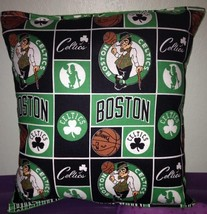 Celtics Pillow Boston Celtics Pillow NBA Handmade in USA - $9.97