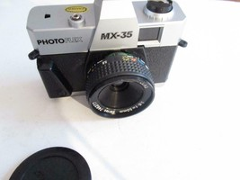 VINTAGE CAMERA - PHOTO FLEX- MX-35 - 1:6 F=50mm LENS  - EXC- G4 - $14.65