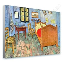 CANVAS (Rolled) Bedroom At Arles Vincent Van Gogh Oil Painting Print Pai... - $19.08+