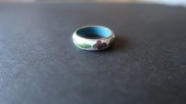 Antique Cloisonne Ring Size 6.75 - $31.67
