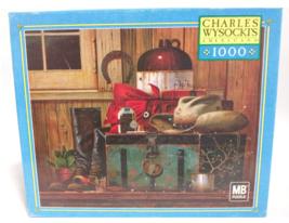 Charles Wysocki 1000 Piece Jigsaw Puzzle Game Traveling Cowboy - Rompeca... - $38.12