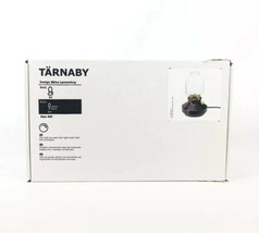 Ikea TARNABY Dark Charcoal With Gold Accents Table Lamp 003.238.87 Dimmer - $38.60