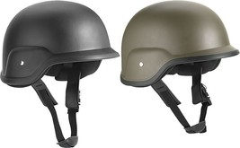 ABS PASGT Plastic Replica Military Armor Helmet & Strap - $34.99
