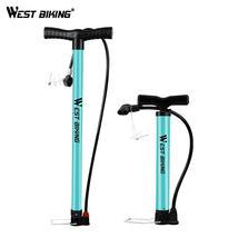 WEST BIKING Bicycle Air Pump Schrader Presta Steel Body MTB Road Bike Ba... - €15,09 EUR+