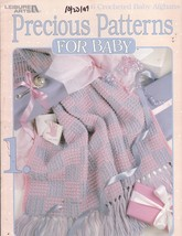 Precious Patterns For Baby 6 Crochet Baby Afghans Patterns Anne Halliday - $9.00