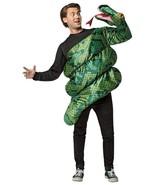 Anaconda Costume Snake Attack Green Funny Adult Men Women Halloween GC7895 - $72.99