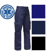 Womens Tactical EMS EMT Pants, Ladies Cargo Uniform 9-Pocket Official Du... - $39.99