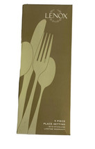 Lenox French Perle 18/10 Stainless Steel 5pc. Place Setting (Service for One) - $27.23