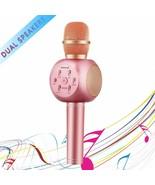Handheld KTV Wireless Portable Bluetooth Karaoke Player Microphone with ... - $24.70