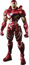 Square Enix Marvel Universe Iron Man Variant Bring Arts Action Figure, Multicolo - $128.60