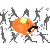 Tennis Training Tool Exercise Tennis Ball Self Study Rebound Ball Tennis... - $16.45