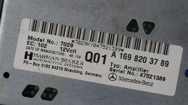 Mercedes W203 W209 Radio Amplifier Amp A1698203789 169-820-37-89 Herman Becker image 6