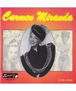 Carmen Miranda CD 1930-1945 Czech Republic Import - Harlequin HQ-CD-94 - $39.75