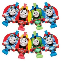 Thomas the Tank Party Favors Blow Outs 8 Per Package Birthday Supplies New - $4.53