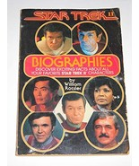 Star Trek II Biographies Rotsler, William and Rostler, William - $14.69