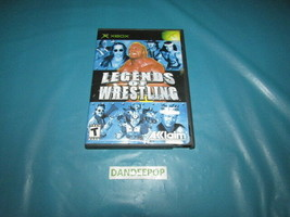 Legends of Wrestling (Microsoft Xbox, 2002) Video Game - $11.87