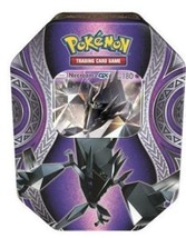 Necrozma GX Tin Mysterious Powers Tin Pokemon TCG 4 Booster Packs Sealed - $18.99