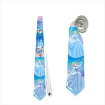necktie tie cinderella princess blue ball dress fairy tale - $22.00