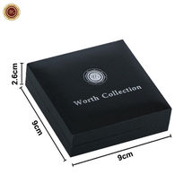 WR Collector's Presentation Box Single Coin Display Storage Case Holds 45mm Coin image 4