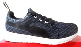 Puma Carson Runner Glit Women's BLACK/WHITE Running Shoes #18806203 - $56.55
