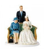 """Royal Doulton Her Majesty A Royal Christening 8.7"""" Figurine Limited Ed New - $366.05"""