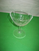 "Clear Crystal Glass Glassware Stemware Stem Wine Champagne Goblets 4.5"" - $1.95"