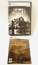 Fallout 3 PC DVD 2008 Microsoft Case Worn Game In Very Good Condition Co... - $11.08
