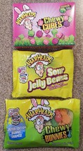 Warheads Candy Spring Easter lot Chewy Cubes Bu... - $11.87