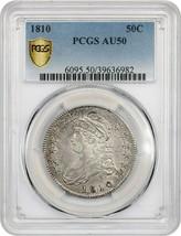 1810 50c PCGS AU50 - Bust Half Dollar - $834.20