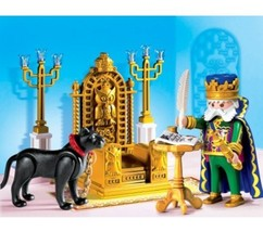 Playmobil King withThrone - $45.22