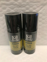 M Skin Care Replenish All Day Face Serum For Men 1 FL Oz Factory Sealed! - $10.50