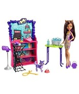 Monster High Pet Salon Doll Activity Set Collectible Girls Toy Grooming ... - $39.14