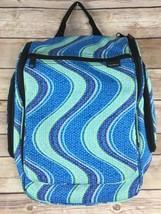 LL Bean Blue Green Hanging Travel Toiletry Cosmetic Bag Organizer Makeup... - £20.28 GBP