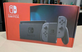 Nintendo Switch 32GB Console With Gray Joy‑Con. In Hand. Ships Fast - $460.34