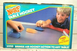 Vintage 1987 Parker Brothers Official NERF Table Hockey Game Complete w/Box - $23.70
