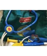Fisher Price Medical Kit Doctor Dr Nurse Bag Play Set 6 Pc Playset Gift ... - $31.05