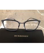 Burberry BE1319 Eyeglasses Metallic Blue 54-19-145 - $178.95