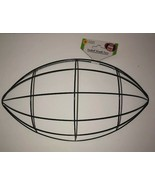 Football Wreath Form #313106 2004 Wire DIY Decor Wall Door Sports Ball 3... - $4.78