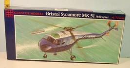 1:72 Bristol Sycamore Mk.51 Helicopter Glencoe Model 1992 - $13.86