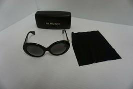 Versace Femme Nouvelles Lunettes de Soleil Mod 4298 Gb1/11 55/20 Gris Verres - $209.84