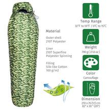 Mummy Ultralight Sleeping Bag Emergency Down - $43.69