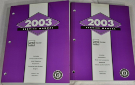 2003 GM Chevy CHEVROLET GEO TRACKER Shop Service Repair Manual Set OEM   - $346.45