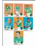 1969 Topps New York Jets Team Set with Joe Namath - $47.30