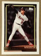 Kyle Abbott California Angels - 1992 Topps Gold Winner #763 - Fast Shipping - $1.48